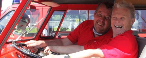 In Feuerwehr-Einsatz….