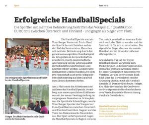 Gemeindeblatt Hard Juni 2015
